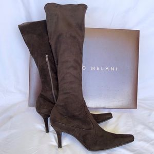 Antonio Melani Rochelle brown boot size 7 1/2